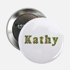 Kathy Floral Button