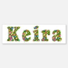 Keira Floral Bumper Bumper Bumper Sticker