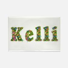 Kelli Floral Rectangle Magnet