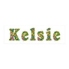 Kelsie Floral 36x11 Wall Peel