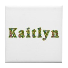 Kaitlyn Floral Tile Coaster