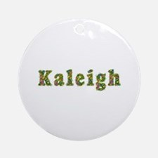 Kaleigh Floral Round Ornament
