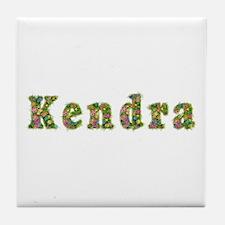 Kendra Floral Tile Coaster