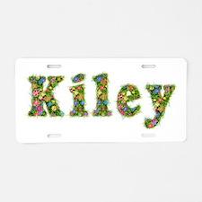 Kiley Floral Aluminum License Plate