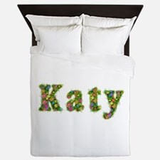 Katy Floral Queen Duvet