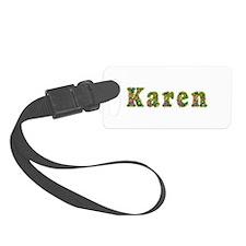 Karen Floral Luggage Tag