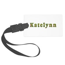 Katelynn Floral Luggage Tag