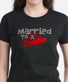Married To A Zombie Tee