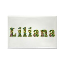 Liliana Floral Rectangle Magnet