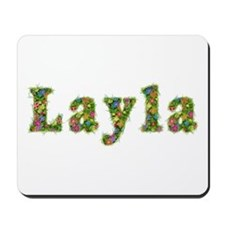 Layla Floral Mousepad