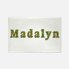 Madalyn Floral Rectangle Magnet