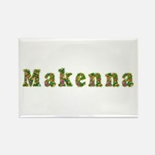 Makenna Floral Rectangle Magnet