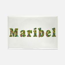 Maribel Floral Rectangle Magnet