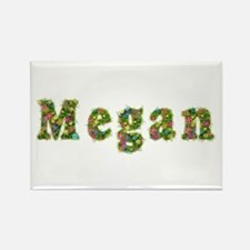 Megan Floral Rectangle Magnet
