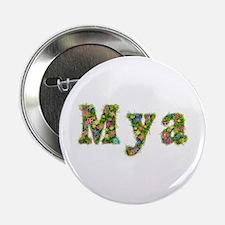 Mya Floral Button