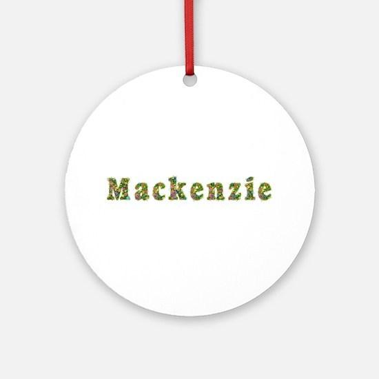 Mackenzie Floral Round Ornament
