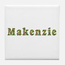 Makenzie Floral Tile Coaster