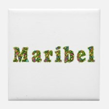 Maribel Floral Tile Coaster