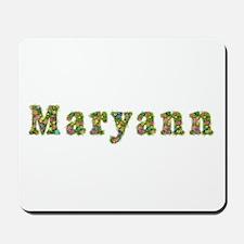 Maryann Floral Mousepad
