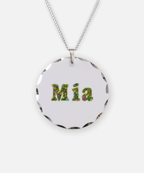 Mia Floral Necklace