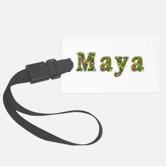 Maya Floral Large Luggage Tag