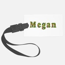 Megan Floral Luggage Tag