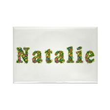 Natalie Floral Rectangle Magnet