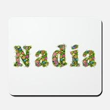 Nadia Floral Mousepad