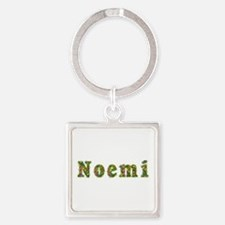 Noemi Floral Square Keychain