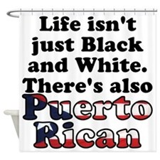Puerto Rican Shower Curtain