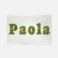 Paola Floral Rectangle Magnet