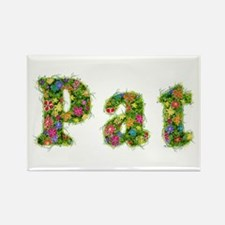 Pat Floral Rectangle Magnet