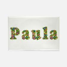 Paula Floral Rectangle Magnet