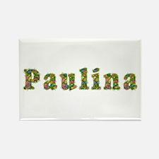 Paulina Floral Rectangle Magnet