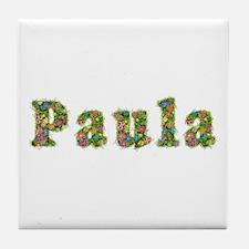 Paula Floral Tile Coaster
