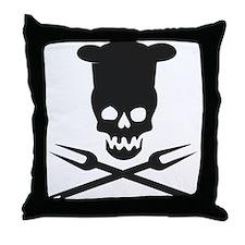 barbecue Throw Pillow