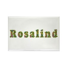 Rosalind Floral Rectangle Magnet