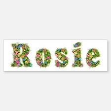 Rosie Floral Bumper Bumper Bumper Sticker