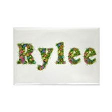 Rylee Floral Rectangle Magnet