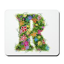 R Floral Mousepad