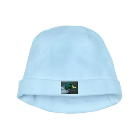 Mallard Duck baby hat
