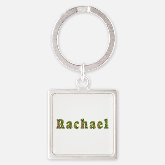 Rachael Floral Square Keychain