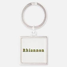 Rhiannon Floral Square Keychain