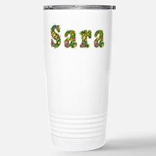 Sara Floral Travel Mug