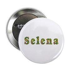 Selena Floral Button