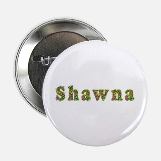 Shawna Floral Button
