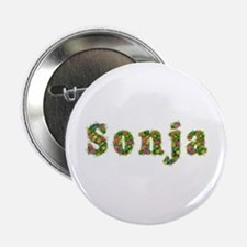 Sonja Floral Button