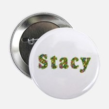 Stacy Floral Button