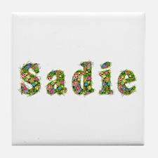 Sadie Floral Tile Coaster