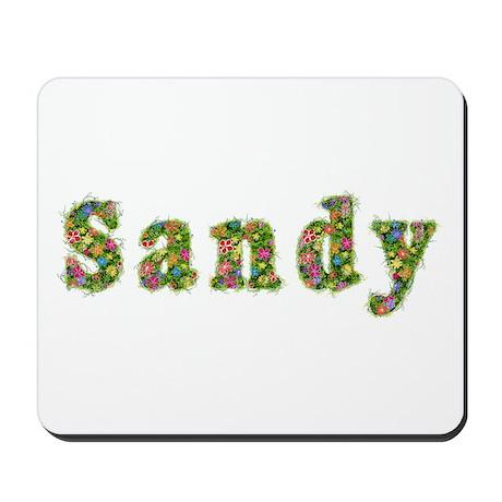 Sandy Floral Mousepad